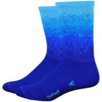 "DeFeet Aireator 6"" Ombre Socks - Royal/Neptune/Carolina"