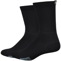 "DeFeet Cyclismo 5"" Socks - Black"