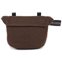 Brompton Saddle Pouch - Khaki Waxed Canvas