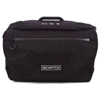 Brompton S Bag - Black/Black Flap