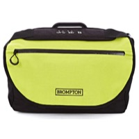 Brompton S Bag - Black/Lime Green Flap