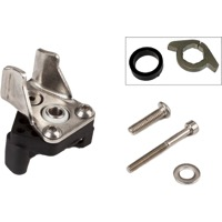 Brompton Derailleur cable anchorage//spring set for integrated shifter