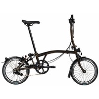 Brompton S6L Black Edition Complete Bike - Black