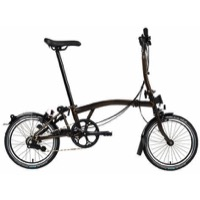 Brompton H6L Black Edition Complete Bike - Black