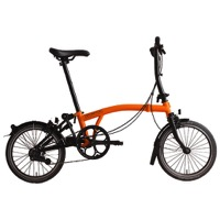 Brompton S6L Black Edition Complete Bike - Orange