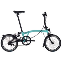 Brompton S6L Black Edition Complete Bike - Turkish Green