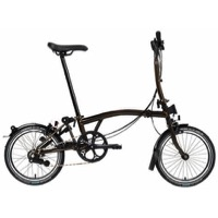 Brompton S6L Black Edition Complete Bike - Black Lacquer