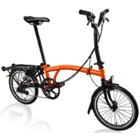 Brompton H6R Black Edition Complete Bike - Orange