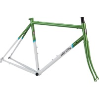 All-City Mr Pink Classic Frameset - Green/White