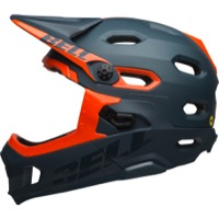 Bell Super DH MIPS Helmet 2019 - Matte/Gloss Slate/Orange