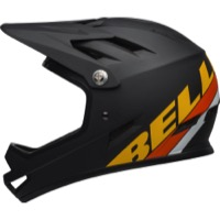 Bell Sanction Helmet 2019 - Matte Black/Yellow/Orange