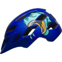 Bell Sidetrack Child Helmet 2019 - T-Rex Matte Blue