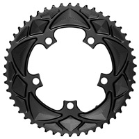 AbsoluteBlack 2x Round Chainrings - 5 x 110mm BCD