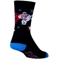 SockGuy Legend Crew Socks - Black