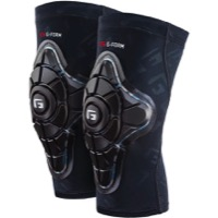 G-Form Pro-X Knee Pads - Black/Teal Camo