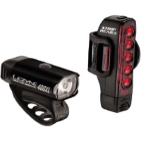 Lezyne Hecto Drive 400XL/Strip Drive Light Combo