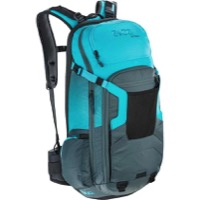 EVOC FR Trail Protector Backpack - Slate/Neon Blue