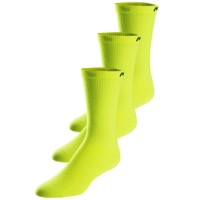 Pearl Izumi Attack Tall Socks 3-Pack 2019 - Screaming Yellow