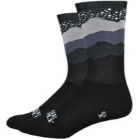 "DeFeet Aireator 6"" Ridge Supply Socks - Skyline Starry Night"