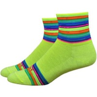 "DeFeet Aireator 3"" Spectrum Womens Socks - Hi-Vis Yellow"