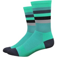 "DeFeet Aireator 6"" Maverick Socks - Celeste/Graphite"