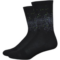 "DeFeet Aireator 6"" Firefly Socks - Black"