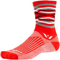 Swiftwick Vision Five Socks - Orange Citron