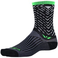 Swiftwick Vision Seven Socks - Tread Black