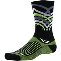 Swiftwick Vision Seven Socks - Shred Black