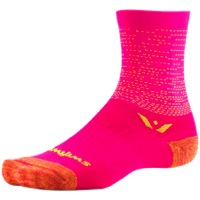 Swiftwick Vision Five Socks - Dash Pink