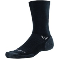Swiftwick Pursuit Seven Wool Socks 2019 - Black