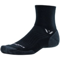 Swiftwick Pursuit Four Wool Socks - Black