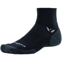 Swiftwick Pursuit Two Wool Socks - Black