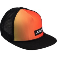 Salsa Devour Sunset Snapback Hat - Red/Yellow/Black