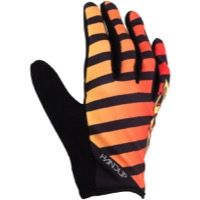 Salsa Handup Devour Full Finger Gloves - Red/Yellow Fade