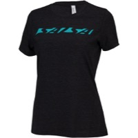 Salsa Downtube Women's T-Shirt - Gray/Teal