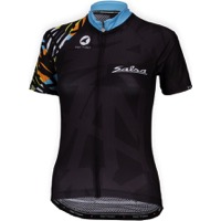 Salsa Wild Kit Short Sleeve Women's Jersey - Black/Multicolor