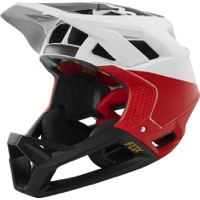 Fox Racing Proframe MIPS Helmet 2019 - White/Black/Red