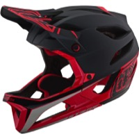 Troy Lee Stage MIPS Full Face Helmet 2019 - Race Black/Red