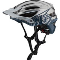 Troy Lee A2 MIPS Helmet 2019 - Decoy Air Force Blue/Silver