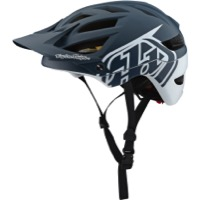 Troy Lee A1 MIPS Helmet 2019 - Classic Grey/White