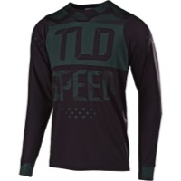 Troy Lee Skyline Air Long Sleeve Jersey 2019 - Speedshop Stealth Camo/Black