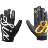 SixSixOne Comp Gloves - Black Script