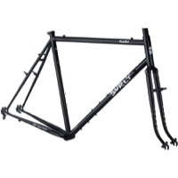Surly Pack Rat Frameset - Hi-Viz Black