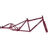 Surly Big Dummy Frameset - Dark Side of the Maroon