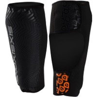 SixSixOne Comp AM Shin Guards - Black