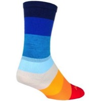 SockGuy 70's Crew Socks - Multi-Color