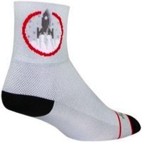 SockGuy Afterburners Socks - White