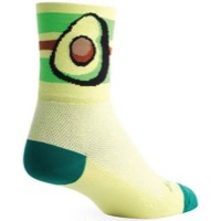 SockGuy Avocado Socks - Yellow/Green