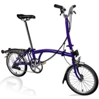 Brompton H6R Complete Bike - Purple Metallic